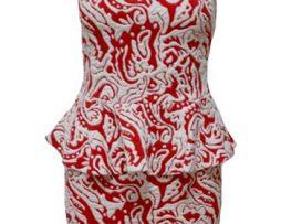 Dress Joy Merah