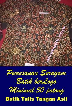 Pemesanan Seragam Batik